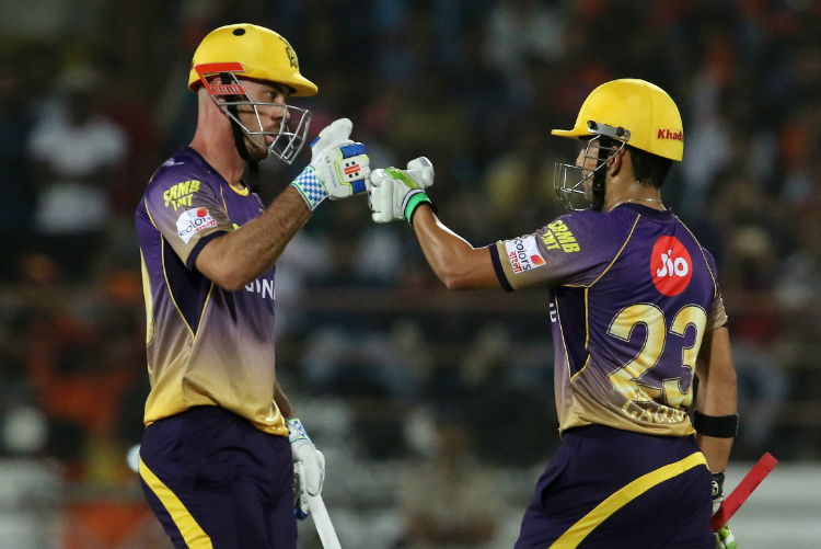 Chris Lynn and Gautam Gambhir chased down a big total against Gujrat Lions.
