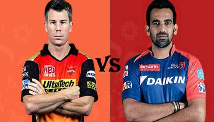 Sunrisers Hyderabad vs Delhi Daredevils