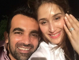 Zaheer khan engages with Sagarika Ghatge