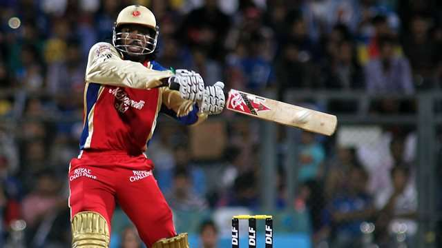 Gayle scored 175 runs off 66 balls in 2013.