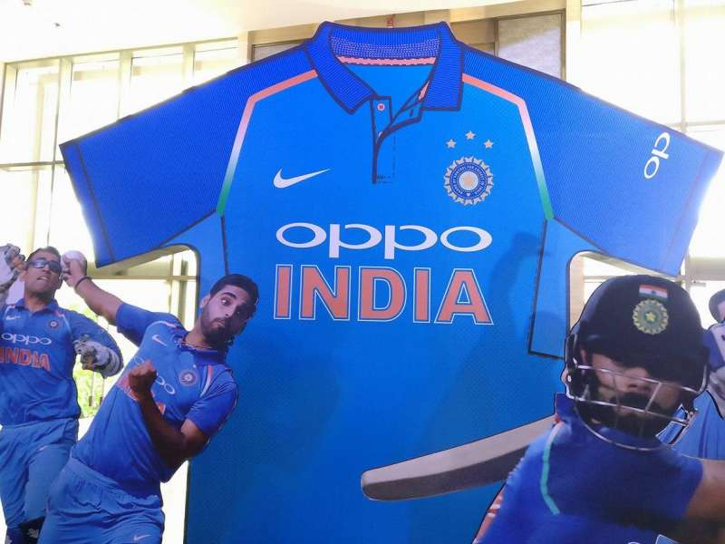 Team India new Jersey for next five years