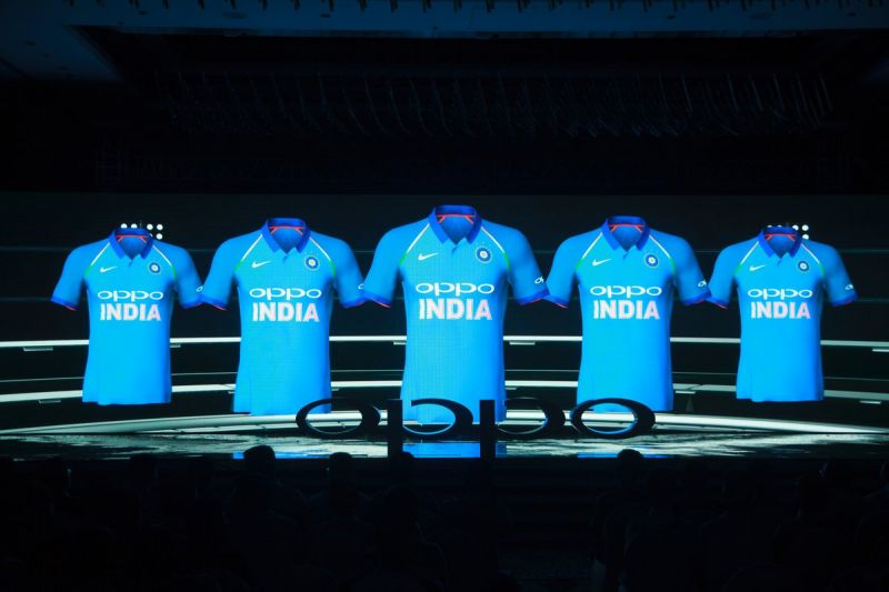 The logo of BCCI is also given in the jersey