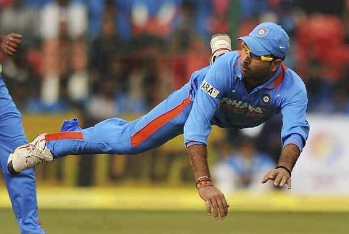 Yuvraj Singh Catches against South Africa in Champions Trophy