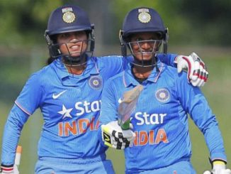 India's Deepti Sharma scored second largest individual score of women's ODI cricket.