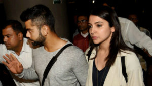 Virat Kohli and Anushka Sharma together in pubilc