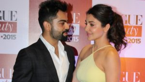 Virat Kohli and Anushka Sharma together for a presentation