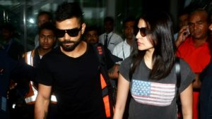 Virat Kohli and Anushka Sharma together for a party