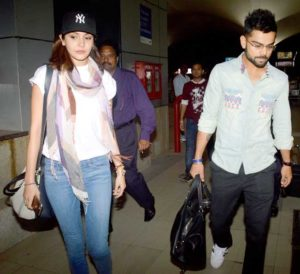 Virat Kohli and Anushka Sharma spotted together in public