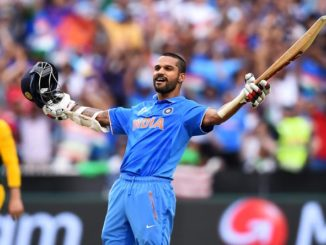Dhawan returns to India