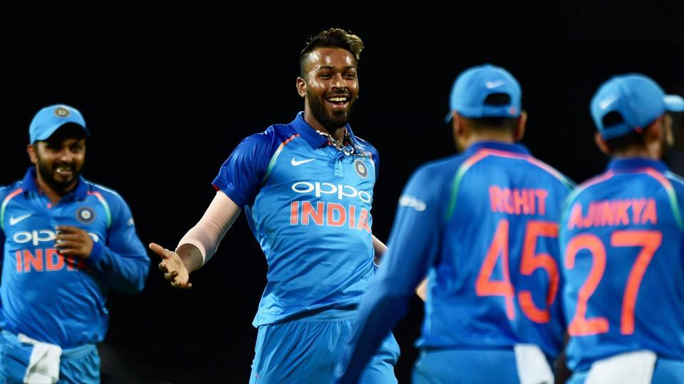 HArdik Pandya man of the series