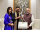 Virat Kohli and Anushka Sharma invites PM Modi for reception