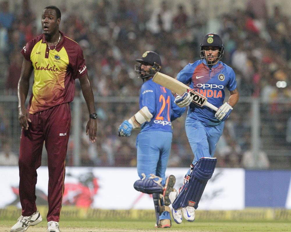 India beat West Indies in T-20