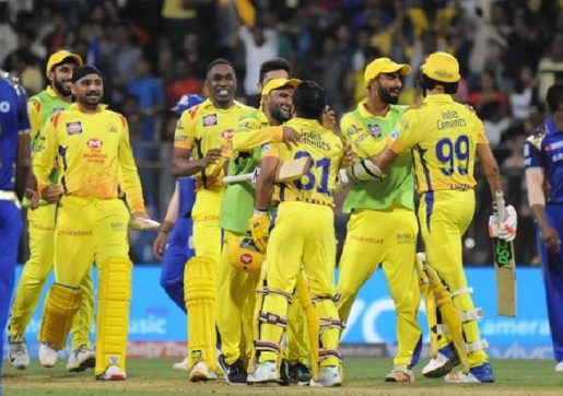 Chennai Super Kings IPL-2019 team