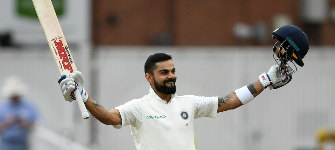 Virat Kolhi highest test score